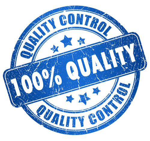 TSG 100% quality on products and services