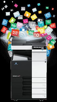 Solution Apps for Konica Minolta printers & copiers