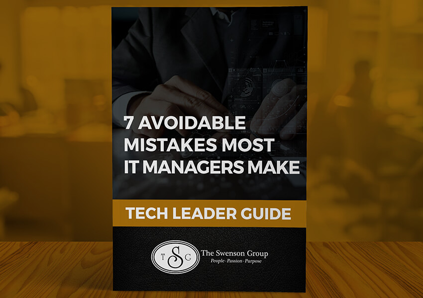7 Avoidable Mistakes Most IT Managers Make Ebook