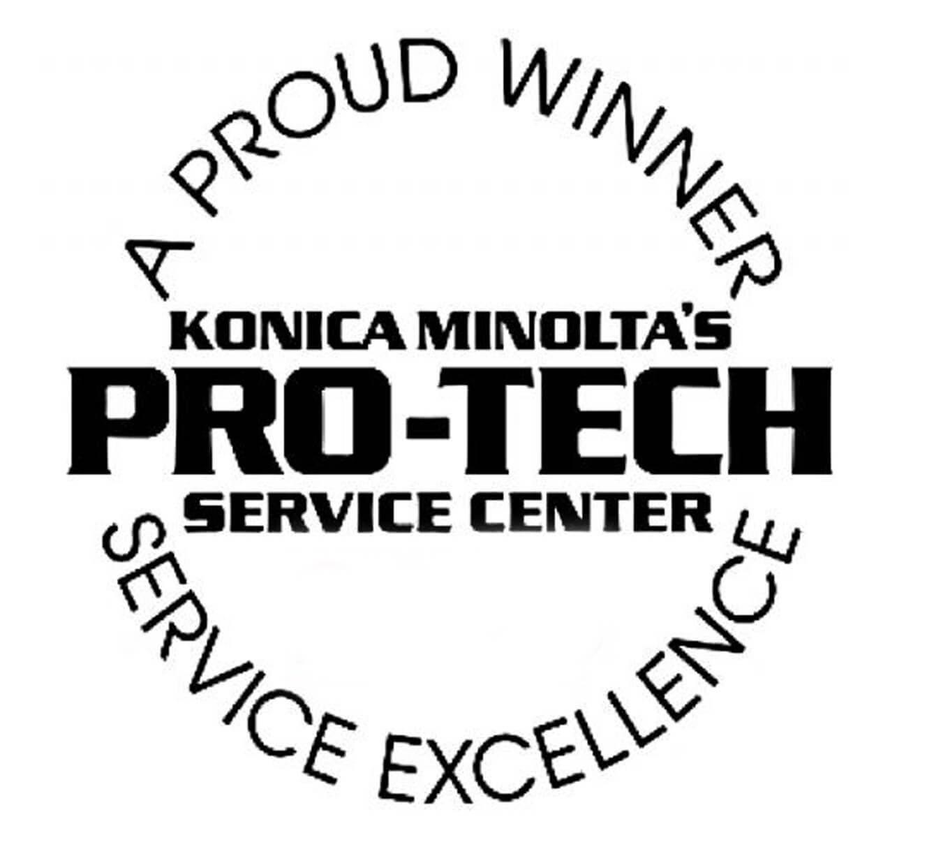 Konica Minolta's Pro-Tech Service Center Winner - The Swenson Group
